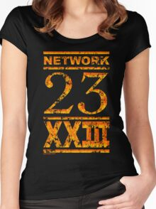 Network 23 Women's Fitted Scoop T-Shirt