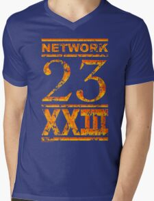Network 23 Mens V-Neck T-Shirt