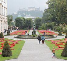 A postcard view (Salzburg, Austria) by bubblehex08