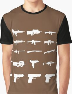 Guns Graphic T-Shirt