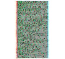 sumer cuneiform Photographic Print