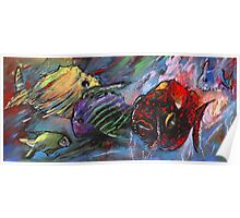 Rainbow Fishes Poster