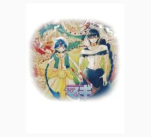 Magi the labyrinth of magic - Aladdin&Judal by noctisricky