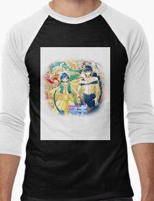 Magi the labyrinth of magic - Aladdin&Judal Men's Baseball ¾ T-Shirt
