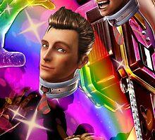 Lollipop Chainsaw Nick Rainbow Theme by stle16