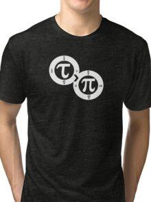 Tau vs Pi (dark) Tri-blend T-Shirt