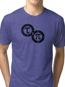 Tau vs Pi Tri-blend T-Shirt