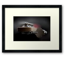 Low................. ploink, ploink... Framed Print