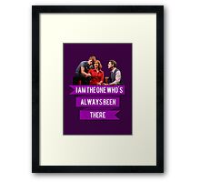 You Don't Know/I Am The One Framed Print