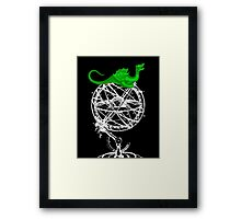 When Dragons ruled the world Framed Print