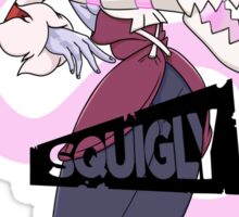 Skullgirls - Squigly & leviathan Sticker