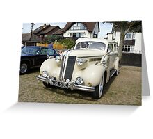 Rolls-Royce 20/25 1935 limousine Vintage Car Greeting Card