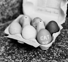 """Eat Me"" Easter Eggs by Peter Fedewa"