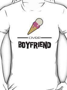 Ice cream/Boyfriend T-Shirt