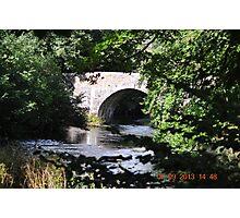 Bridge over the River Fowey, Kernow Photographic Print