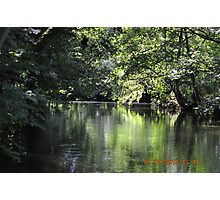 The River Fowey, Landhydrock, Kernow Photographic Print