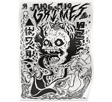 Grimes artwork Poster
