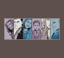 Agents of S.H.I.E.L.D. Line Up- Version 2 by pagebranson
