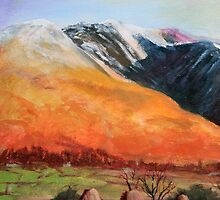Castlerigg Stone Circle and Blencathra by Lee Twigger