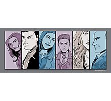 Agents of S.H.I.E.L.D. Line Up- Version 2 Photographic Print