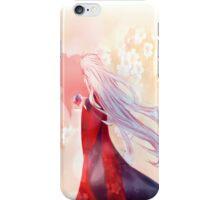 Red&Blue iPhone Case/Skin