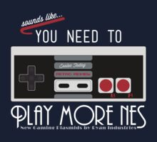 Evolve Today! Play More NES Kids Clothes
