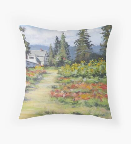 U-Pick Beauty Throw Pillow