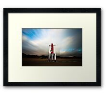 Burnham. Framed Print