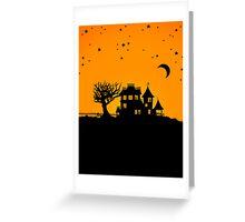 Jack O Lantern Manor Greeting Card