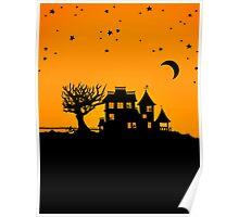 Jack O Lantern Manor Poster
