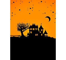 Jack O Lantern Manor Photographic Print