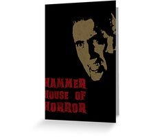 Hammer House of Horror Greeting Card