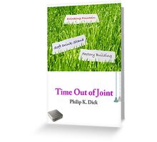 Time Out of Joint - Soft Drink Stand, etc. Greeting Card
