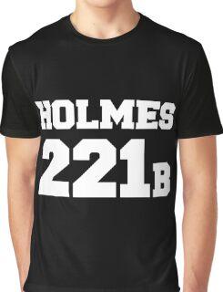 Sherlock - Team Holmes (white text) Graphic T-Shirt