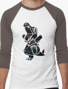 Totodile Men's Baseball ¾ T-Shirt