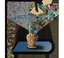 Vase on Table Study Photographic Print