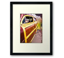 Load Your Board in the Woody Framed Print
