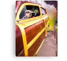 Load Your Board in the Woody Canvas Print