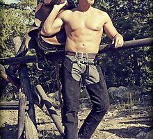 45436v Cowboy Male Figure Study by PrairieVisions