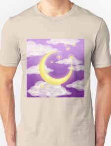Moon Purple Unisex T-Shirt