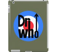 Dr Who Target (with arrow) - Khaki Green iPad Case/Skin