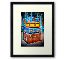 Travelling Framed Print