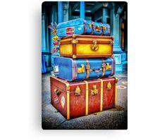 Travelling Canvas Print