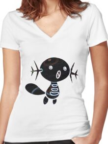 Wooper Women's Fitted V-Neck T-Shirt