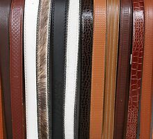 Handmade Leather Belts in Cotacachi Ecuador by rhamm