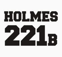 Sherlock - Team Holmes (black text) One Piece - Long Sleeve