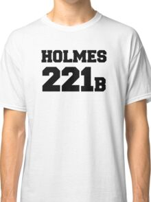 Sherlock - Team Holmes (black text) Classic T-Shirt