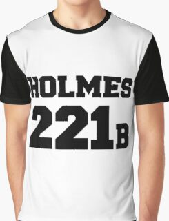 Sherlock - Team Holmes (black text) Graphic T-Shirt