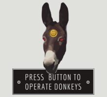 Press button to Operate Donkeys by WawaSkittles