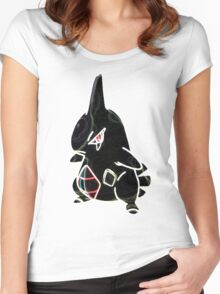 Larvitar Women's Fitted Scoop T-Shirt